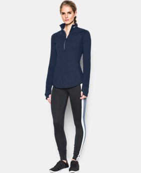 Women's UA Threadborne Run True 1/2 Zip  1 Color $35.99 to $48.99