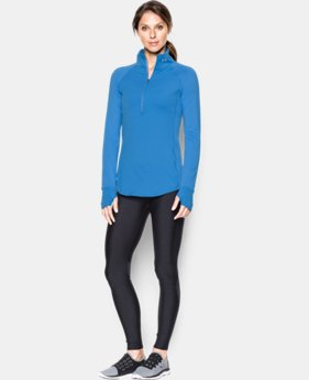 Women's UA Threadborne Run True 1/2 Zip  1 Color $26.99