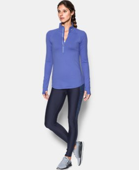 Women's UA Threadborne Run True 1/2 Zip  1 Color $48.99