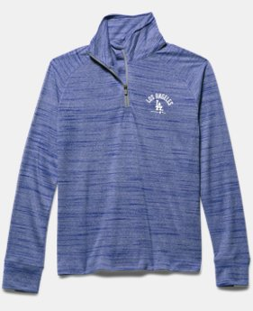Girls' Los Angeles Angels UA Tech™ ½ Zip