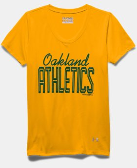 Girls' Oakland Athletics UA Tech™ T-Shirt