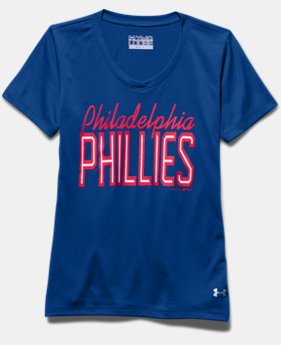 Girls' Philadelphia Phillies UA Tech™ T-Shirt