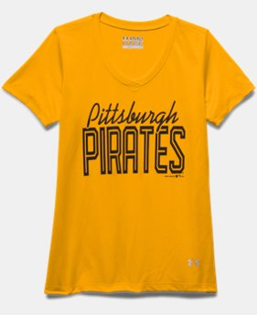 Girls' Pittsburgh Pirates UA Tech™ T-Shirt