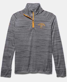Girls' Pittsburgh Pirates UA Tech™ ½ Zip