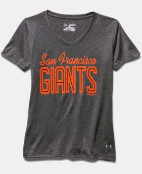 Girls' San Francisco Giants UA Tech™ T-Shirt