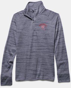 Girls' Washington Nationals UA Tech™ ½ Zip