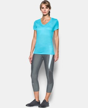 Women's UA Tech™ Tiger V-Neck LIMITE