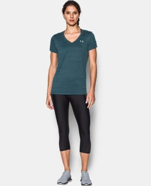 Women's UA Tech™ Tiger V-Neck  1 Color $29.99