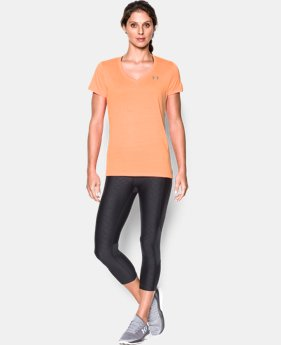 Women's UA Tech™ Tiger V-Neck  1 Color $22.49