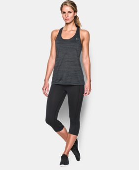 New Arrival  Women's UA Tech Tank - Tiger  2 Colors $29.99