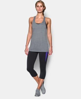 New Arrival  Women's UA Tech Tank - Tiger LIMITED TIME: FREE SHIPPING 1 Color $29.99