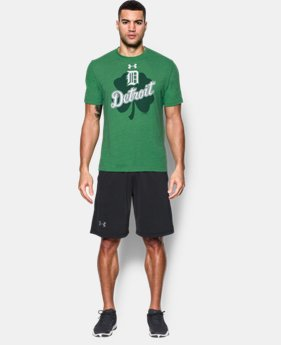 New Arrival  Men's Detroit Tigers St. Patty's T-Shirt LIMITED TIME: FREE SHIPPING 1 Color $39.99