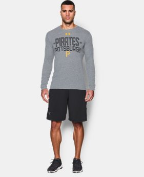 Men's Pittsburgh Pirates UA Tri-blend Long Sleeve T-Shirt