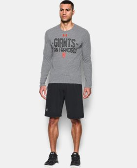 Men's San Francisco Giants UA Tri-blend Long Sleeve T-Shirt