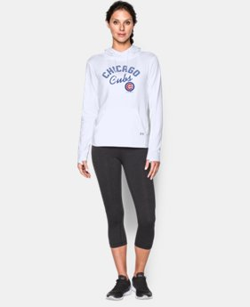 New to Outlet Women's Chicago Cubs UA French Terry Hoodie  1 Color $52.99