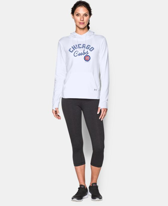 Women's Chicago Cubs UA French Terry Hoodie  1 Color $59.99