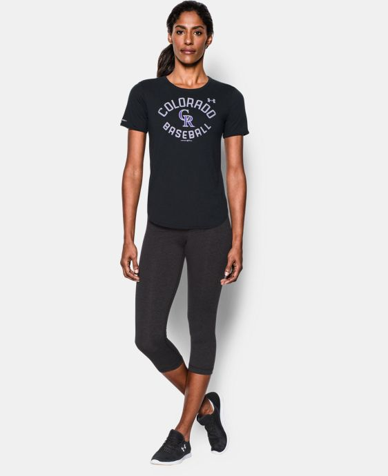 Women's Colorado Rockies Crew  1 Color $34.99
