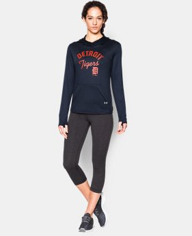 Women's Detroit Tigers UA French Terry Hoodie  1 Color $59.99