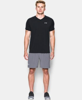 Men's UA CoolSwitch Run V-Neck  1 Color $30.99 to $41.99
