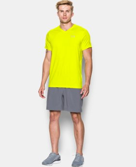 Men's UA CoolSwitch Run V-Neck LIMITED TIME: FREE SHIPPING 1 Color $54.99