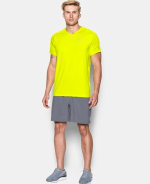 Men's UA CoolSwitch Run V-Neck  1 Color $32.99 to $41.99