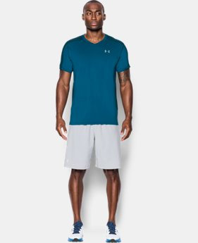 New Arrival  Men's UA CoolSwitch Run V-Neck LIMITED TIME: FREE SHIPPING  $64.99