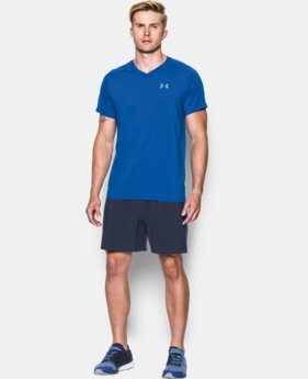 Men's UA CoolSwitch Run V-Neck  1 Color $30.99 to $32.99