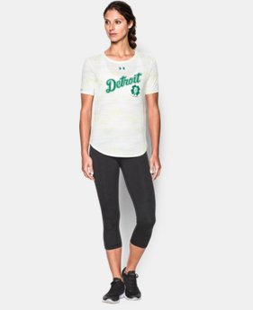 Women's Detroit Tigers UA St Paddy's Crew
