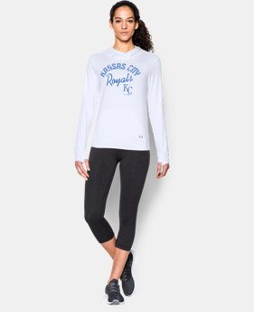 New to Outlet Women's Kansas City Royals UA French Terry Hoodie  1 Color $52.99