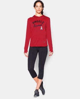 New to Outlet Women's Los Angeles Angels UA French Terry Hoodie  1 Color $52.99