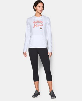 Women's Miami Marlins UA French Terry Hoodie