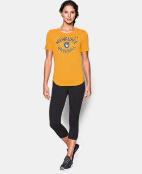 Women's Milwaukee Brewers Crew LIMITED TIME: FREE SHIPPING 1 Color $34.99