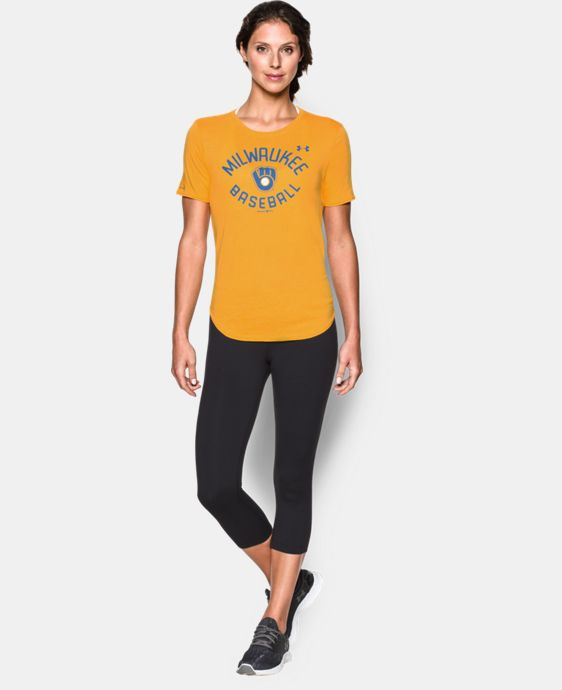 Women's Milwaukee Brewers Crew LIMITED TIME: FREE U.S. SHIPPING 1 Color $34.99