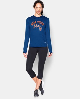 New to Outlet Women's New York Mets UA French Terry Hoodie LIMITED TIME: FREE U.S. SHIPPING 1 Color $52.99