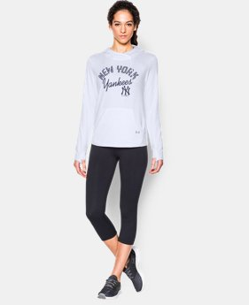 New to Outlet Women's New York Yankees UA French Terry Hoodie  1 Color $39.74