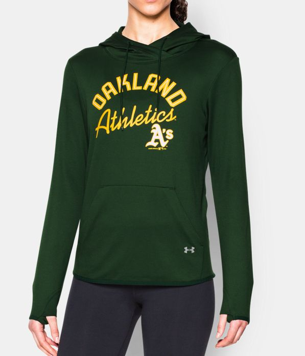 Women 39 s oakland athletics ua french terry hoodie under for 121 141 westbourne terrace london