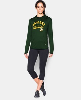Women's Oakland Athletics UA French Terry Hoodie  1  Color Available $52.49