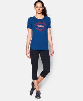 Women's Philadelphia Phillies Crew LIMITED TIME: FREE U.S. SHIPPING 1 Color $34.99