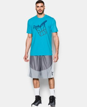 Men's UA Get Buckets Icon T-Shirt LIMITED TIME: FREE SHIPPING 1 Color $34.99