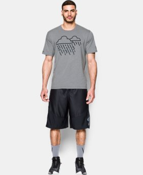 New Arrival  Men's UA Raining 3's Icon T-Shirt LIMITED TIME: FREE SHIPPING 1 Color $29.99