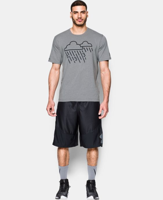 Men's UA Raining 3's Icon T-Shirt  1 Color $34.99