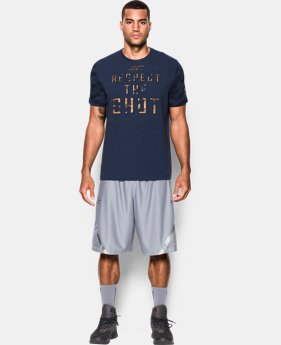 Men's SC30 Respect the Shot T-Shirt  1 Color $34.99