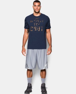 Men's SC30 Respect the Shot T-Shirt  1 Color $39.99