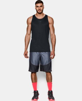 New Arrival  Men's UA Buzzer Beater Tank LIMITED TIME: FREE SHIPPING 3 Colors $34.99