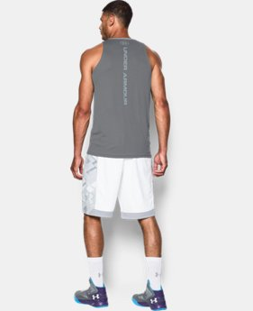 Men's UA Buzzer Beater Tank LIMITED TIME: FREE U.S. SHIPPING 1 Color $22.99