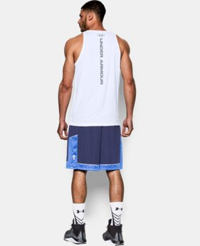 Men's UA Buzzer Beater Tank  1 Color $34.99
