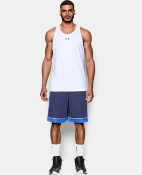 New Arrival  Men's UA Buzzer Beater Tank LIMITED TIME: FREE SHIPPING  $34.99