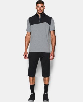 New Arrival  Men's SC30 Trey Area Short Sleeve ¼ Zip LIMITED TIME: FREE SHIPPING 1 Color $69.99