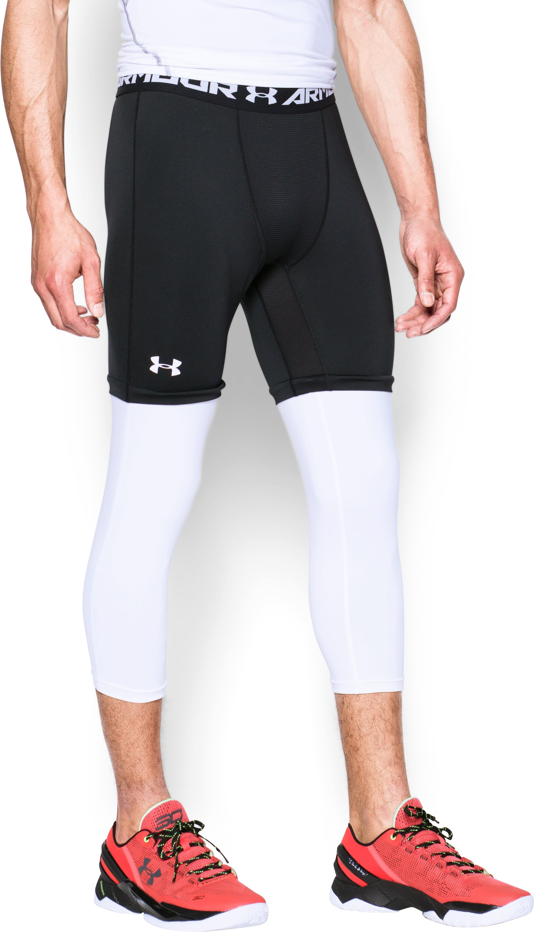 Men's SC30 ¾ Compression Leggings, Black