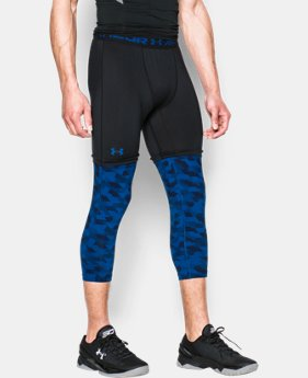 Men's SC30 ¾ Compression Leggings LIMITED TIME: FREE U.S. SHIPPING 1 Color $37.99